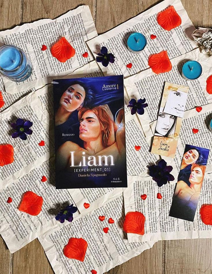 Liam: experiment 01 - Romanzo rosa di fantascienza